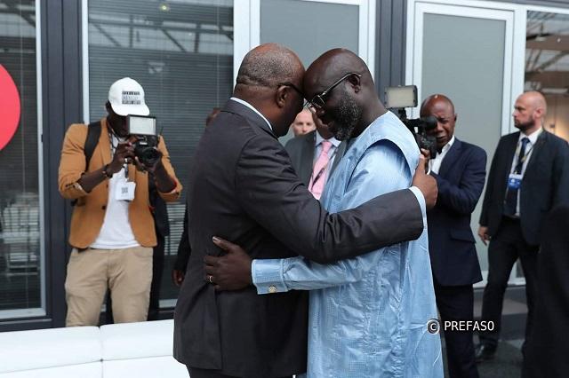 Diplomatie: Georges Weah attendu à Ouagadougou ce mardi 30 octobre