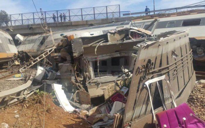 Maroc: Six morts et 86 blessés dans un accident de train
