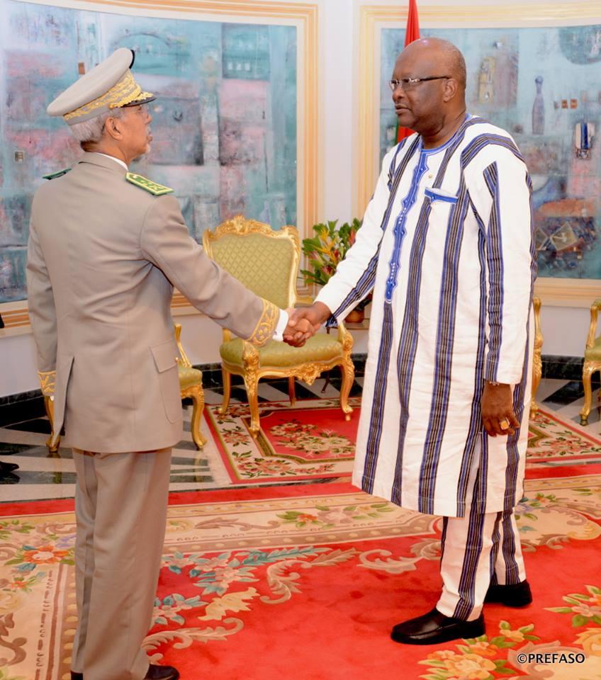 G5 Sahel : le nouveau commandant sollicite le soutien du président du Faso.