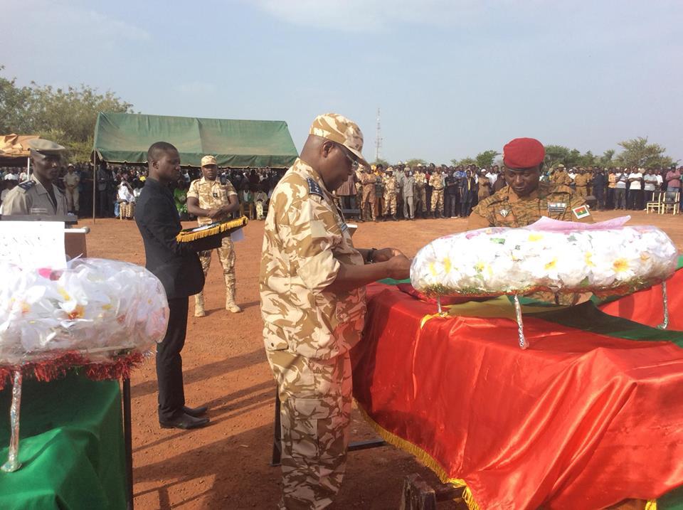 Sécurité: Les six (06) policiers inhumés cet après -midi à Ouahigouya.