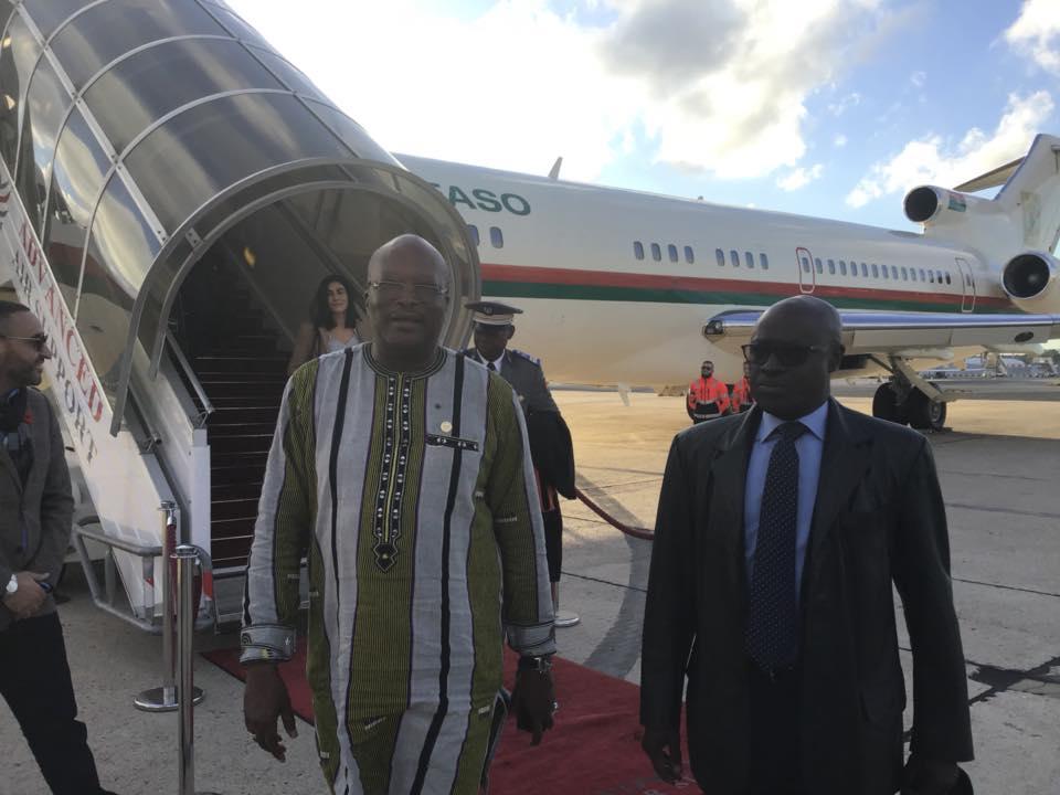 Commémoration du centenaire de l'Armistice : le président du Faso à Paris.