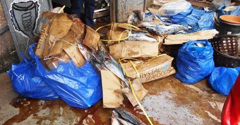 Produits alimentaire impropre: Du poisson avarié saisi  à Gaoua