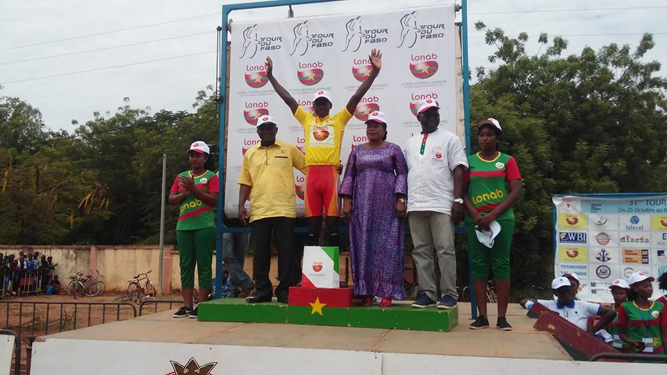 Sport: Le Burkinabè Mathias Sorgho remporte le 31e tour du Faso