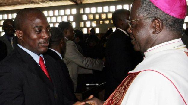 L'archevêque de Kinshasa Laurent Monsengwo démissionne