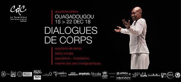Communiqué de presse : « Festival Dialogues de corps », 12e édition  Ouagadougou, Du 15 au 22 décembre 2018 « Territoires et Imaginaires »