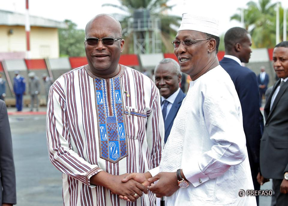 Le président tchadien à Ouagadougou pour célébrer les 50 ans des 2IE.