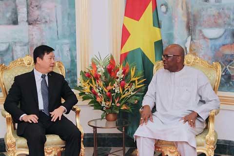 République populaire de Chine/Burkina Faso : Des actions fortes dans trois domaines clés