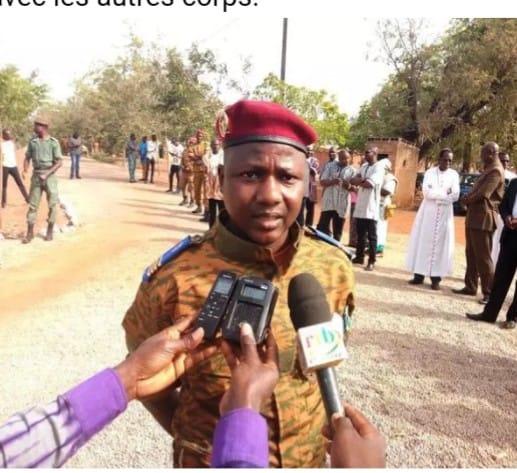 Sécurité: Le commandant Tankoano Koagri Victor désormais aux commande.
