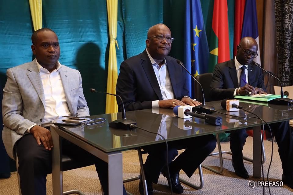 Le président du Faso échange avec ses compatriotes de France.