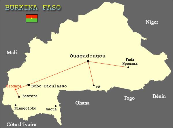 Burkina/ Coronavirus: Plusieurs villes mises en quarantaine