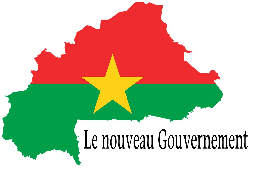 Burkina: voici le gouvernement
