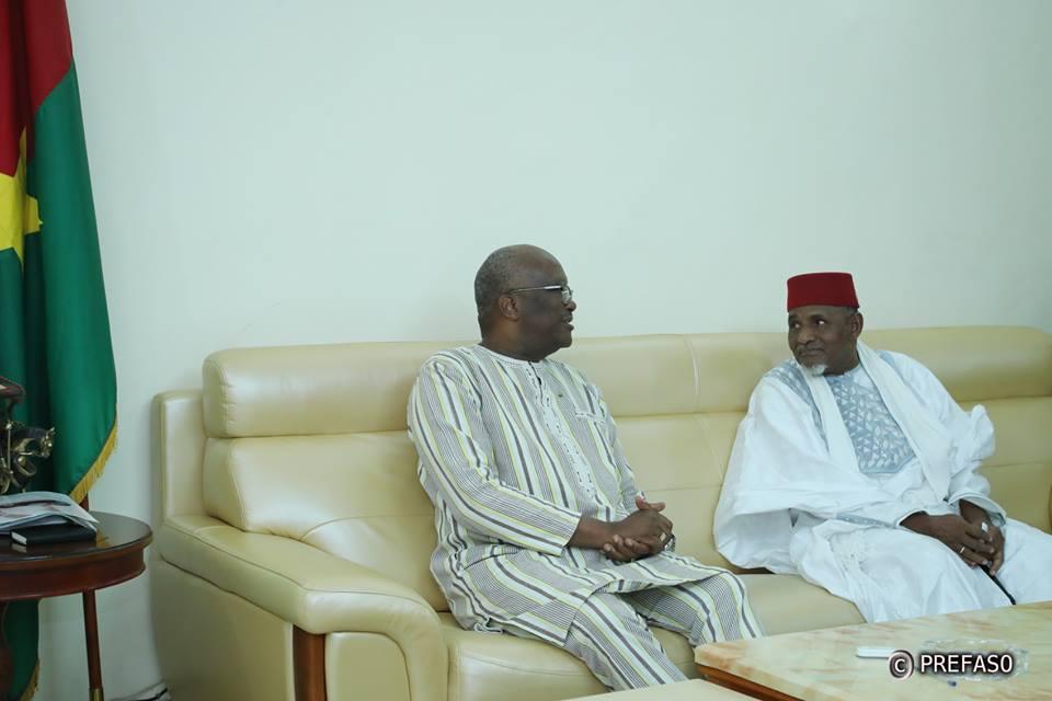 Cohésion nationale : Le président du Faso reçoit une délégation de leaders coutumiers et associatifs peulhs