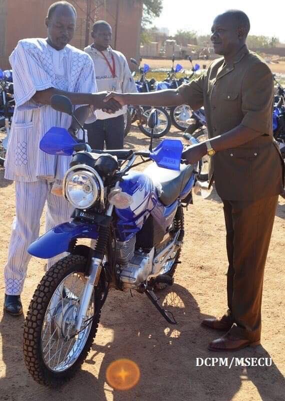 Sécurité: Une quarantaine de motos pour soutenir les FDS.
