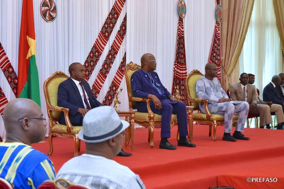 Vœux du corps diplomatique au président du Faso : les diplomates réaffirment leur soutien au peuple burkinabè.