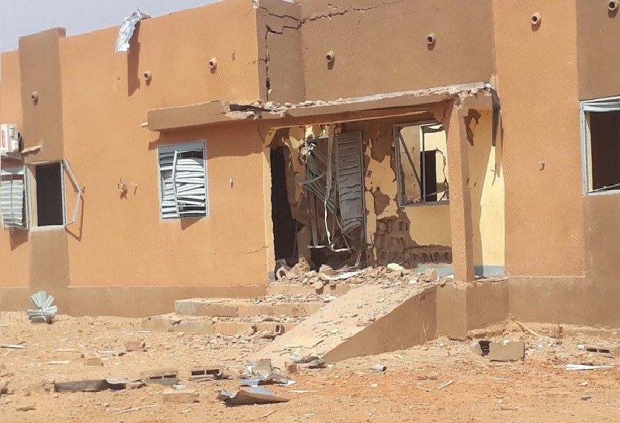 Djibo: le bâtiment administratif d'une école détruit