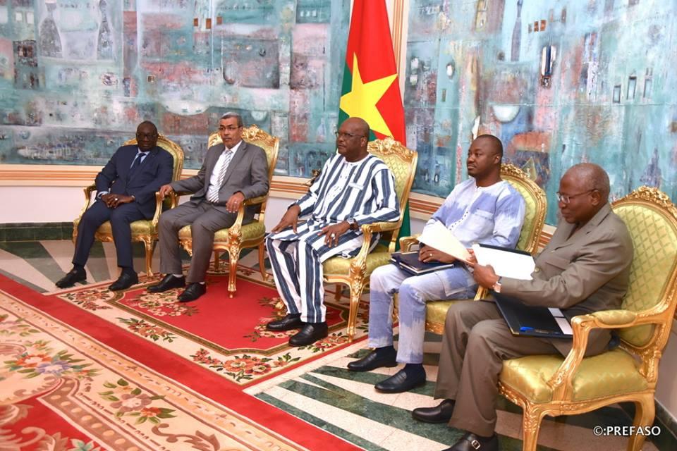 G5 Sahel : l'Union des chambres de commerce et d'industrie de l'espace demande le soutien du président du Faso