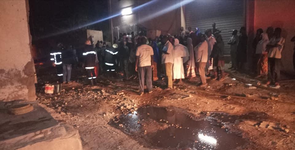 Ouagadougou: un entrepôt situé dans l'arrondissement 1 part en fumée
