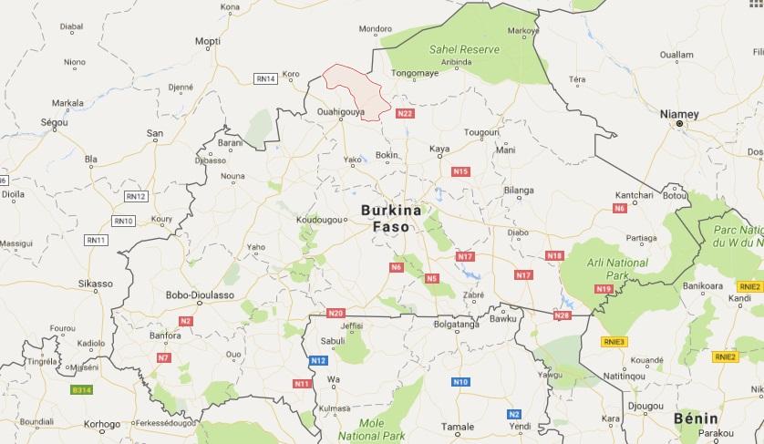 Burkina Faso: 7 personnes tuées ce lundi à Ouindigui dans le Loroum