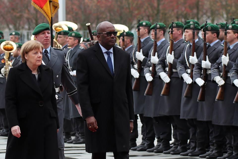 Le président du Faso en visite de travail en République fédérale d'Allemagne.