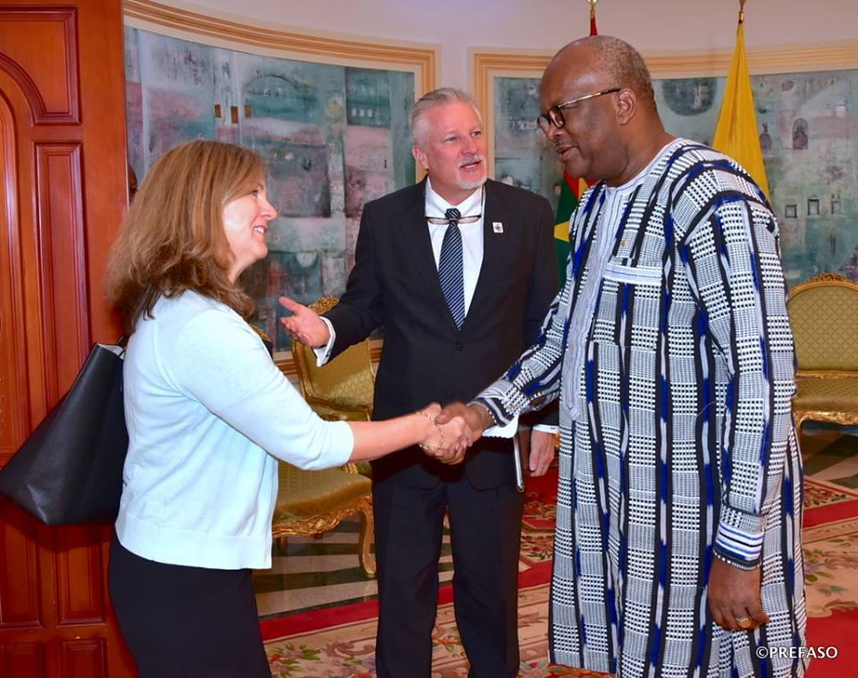 Etats Unis - Burkina Faso : un partenariat réaffirmé.
