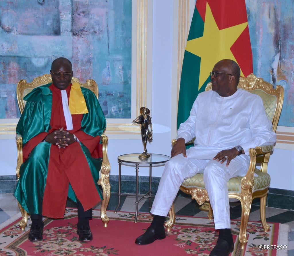 Ordre des médecins du Burkina : le nouveau bureau présenté au président du Faso