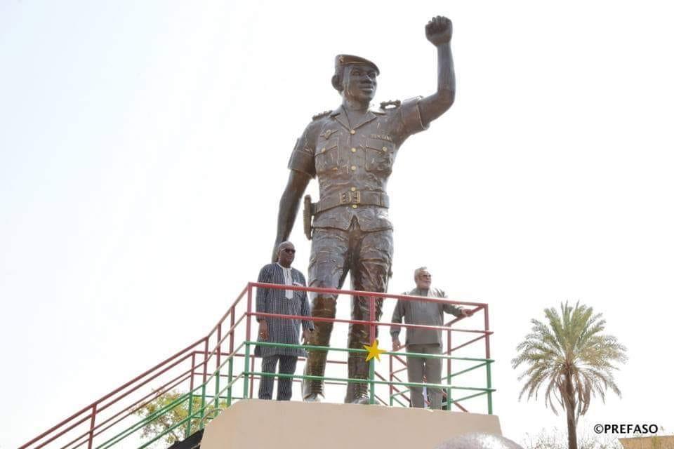 """Statue de Thomas Sankara: """"il fallait tenir compte absolument de l'avis de la veuve SANKARA et de ses enfants"""" lingha Fils"""