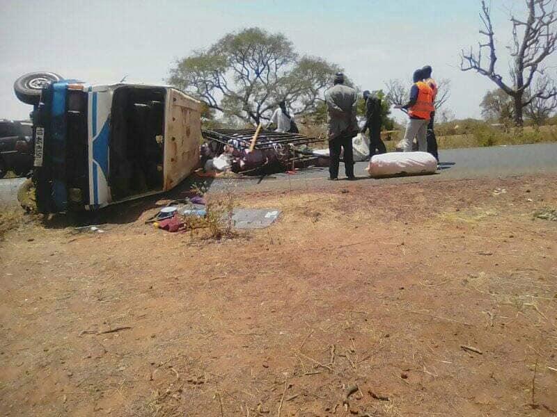 Bittou : 7 morts dans un accident de la route
