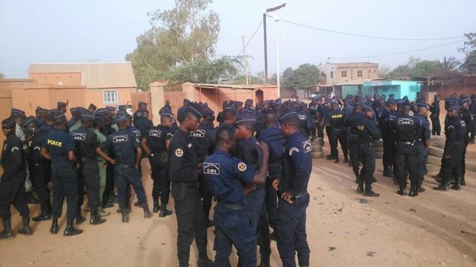 Sécurité: discussion fructueuse entre la police et le gouvernement
