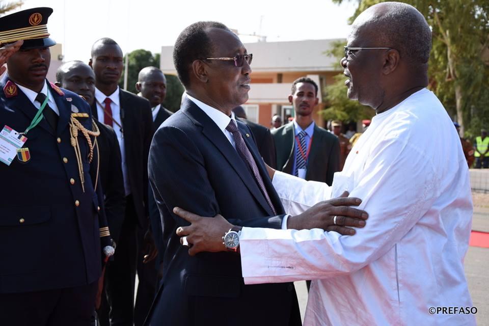 Le président du Faso à N'Djaména pour la clôture du Salon africain de l'Agriculture