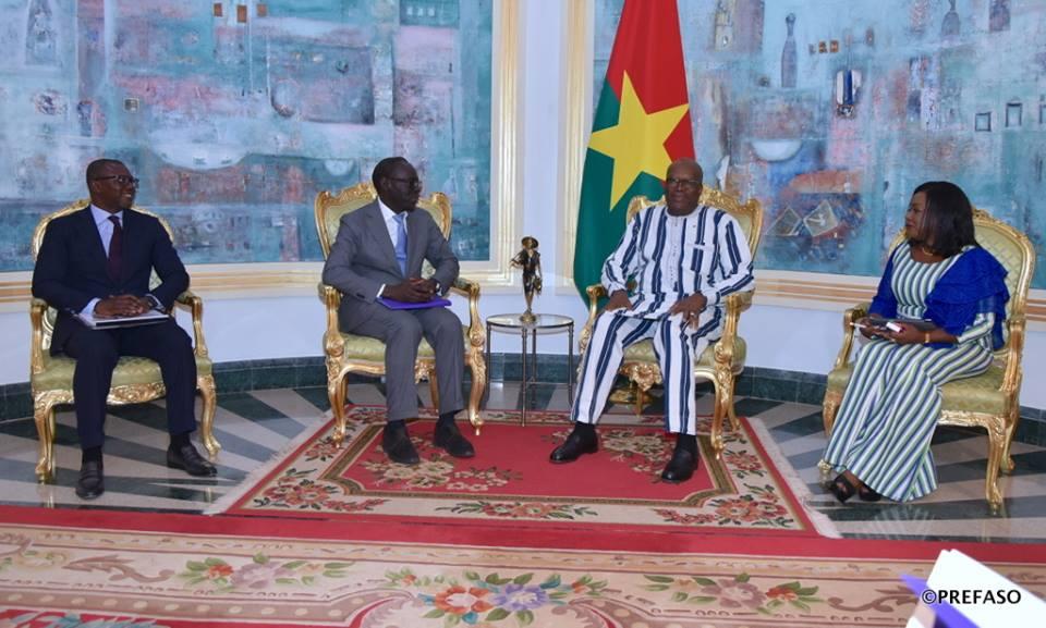 Téléphonie mobile au Burkina : Orange fait le point de ses interventions au président Kaboré.
