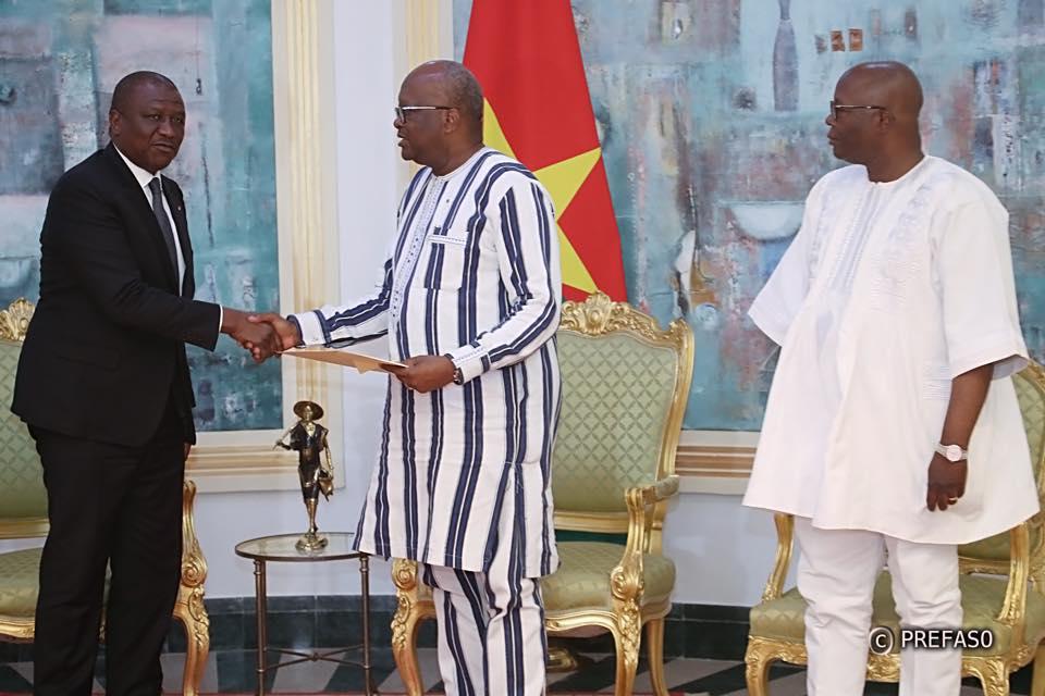 Burkina Faso-Côte d'Ivoire : Hamed Bakayoko porteur d'un message.