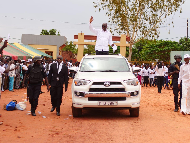 Politique: Gilbert Ouédraogo investi candidat à la présidentielle de 2020