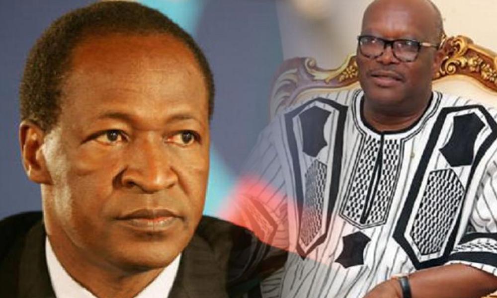Politique: Blaise Compaoré écrit à Roch Kaboré