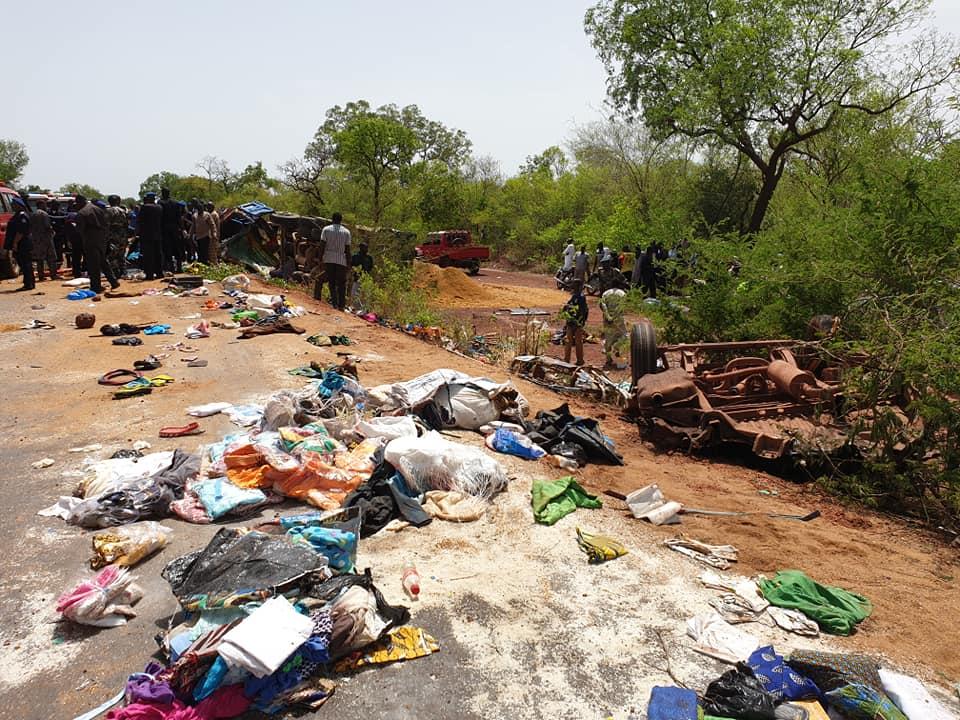Mali: 23 morts et 16 blessés graves dans un accident