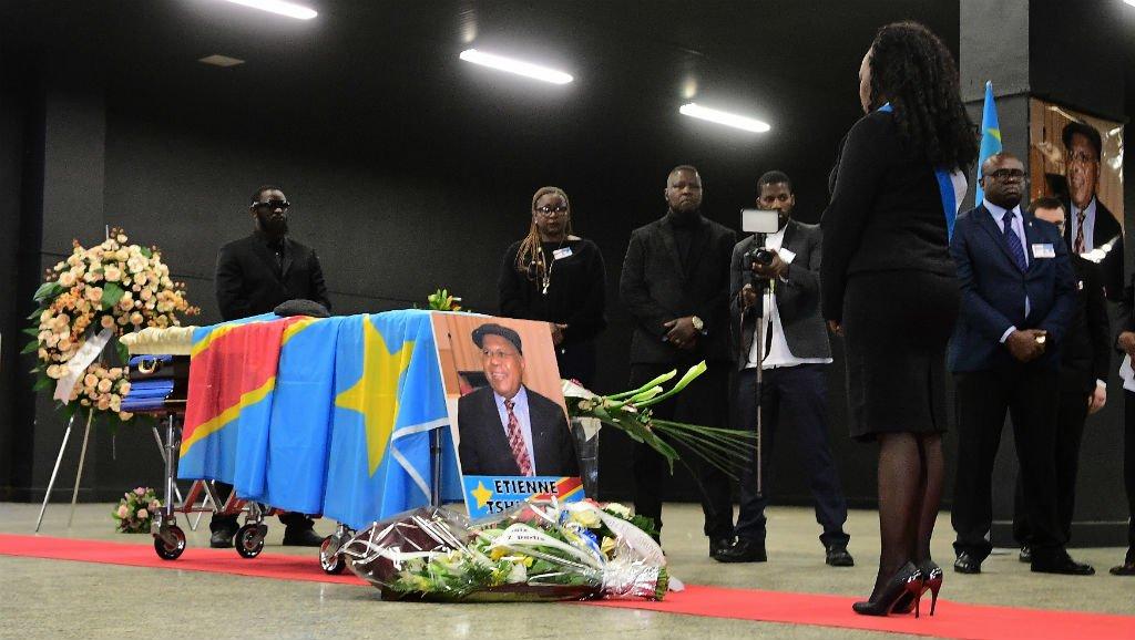 RDC: le corps d'Étienne Tshisekedi attendu à Kinshasa le 30 mai