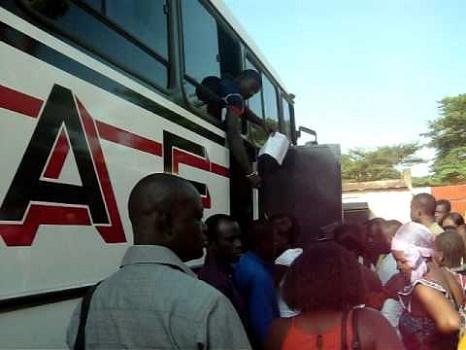 Burkina : les transports en commun seront fermés du 24 au 27 Juin 2019