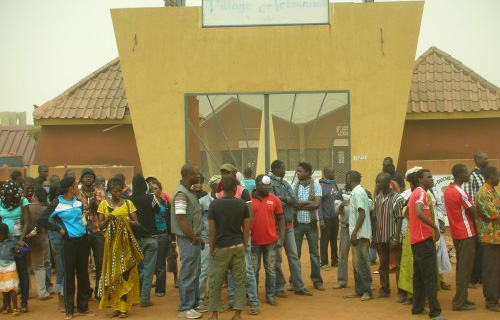 le personnel administratif du village artisanal de Ouagadougou annonce un Sit in à partir du 12 Juin
