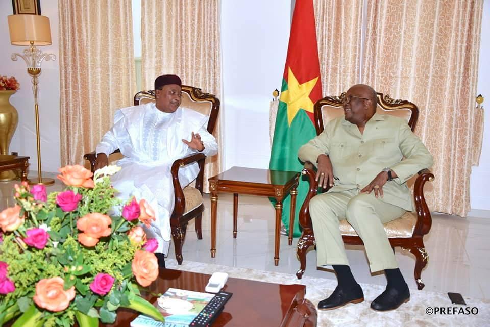 12e sommet extraordinaire de la conférence des chefs d'Etat de l'Union africaine: le président du Faso est arrivé à Niamey.