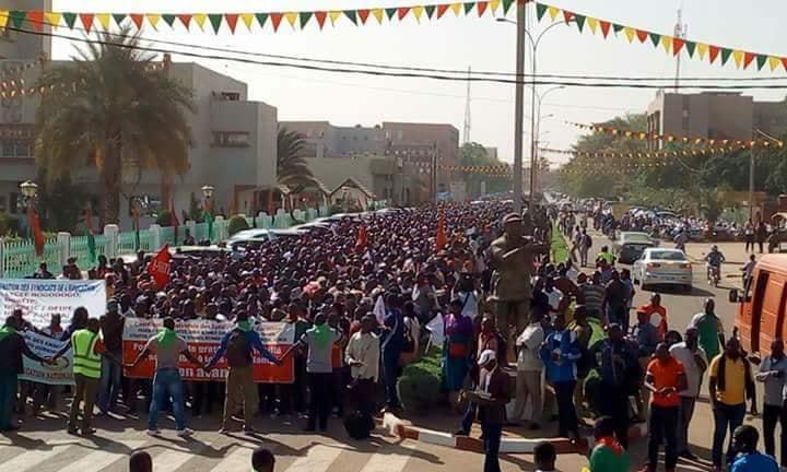 Burkina: les Syndicats maintiennent leur mot d'ordre de grève du 16 Septembre 2019