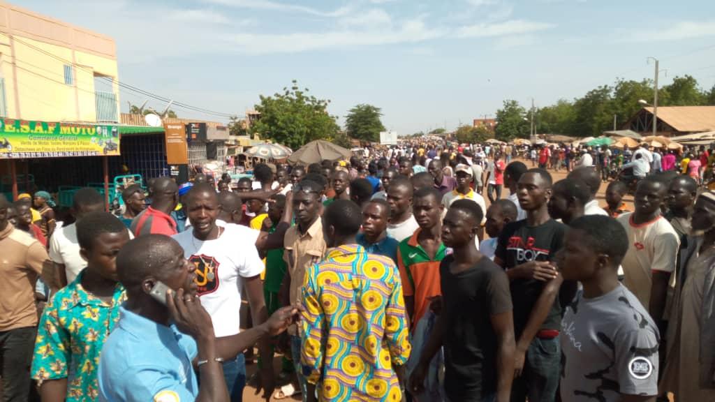 Kongoussi: des déplacés expriment leur colère