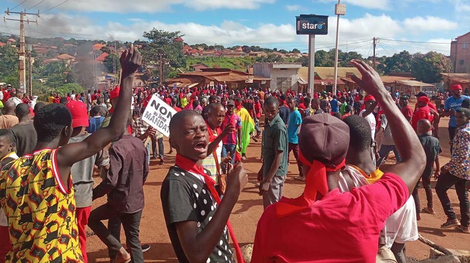 Guinée : un autre manifestant tué ce mardi