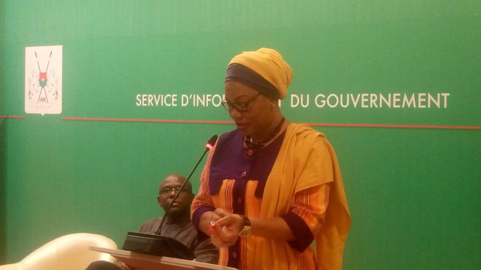 Conférence de presse du Gouvernement : situation des déplacés internes dans les régions du Burkina