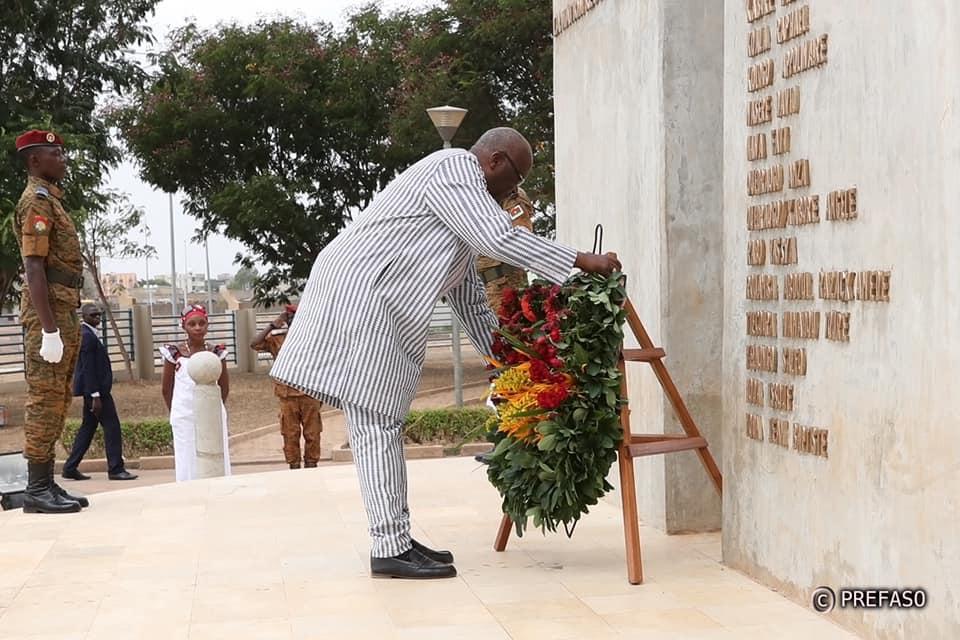 An V de l'insurrection Populaire: le message du président du Faso