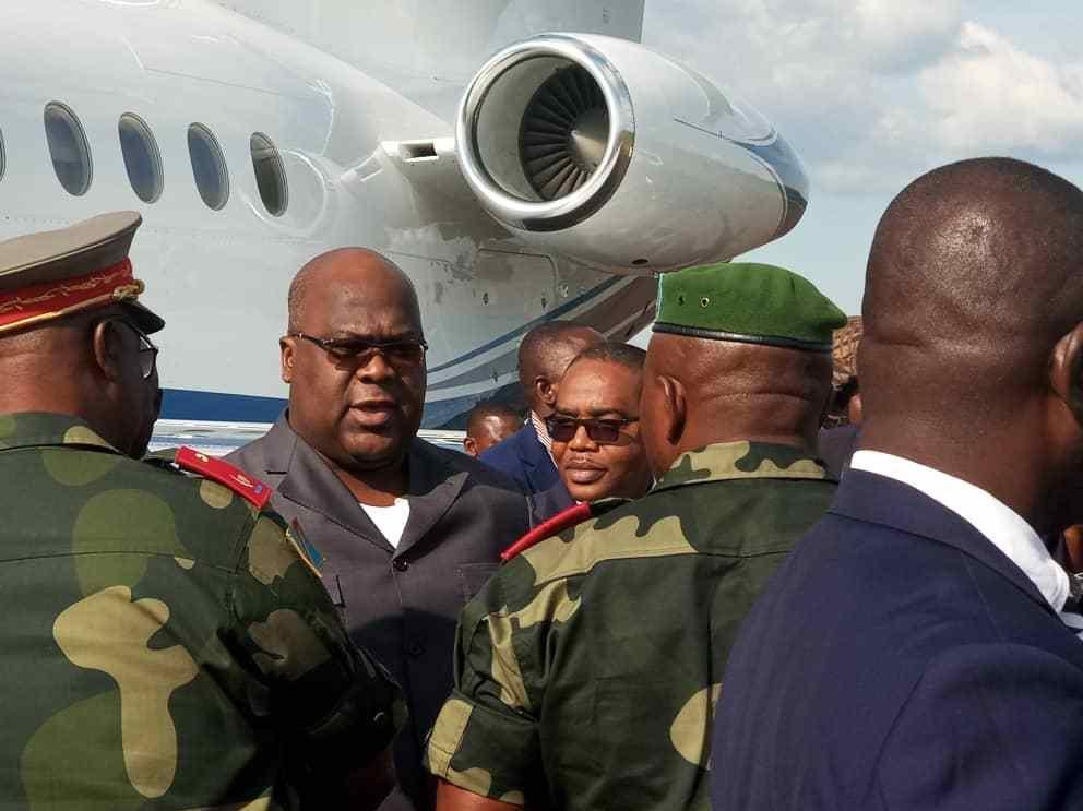 RDC : Crash de l'avion transportant le matériel roulant de Félix Tshisekedi