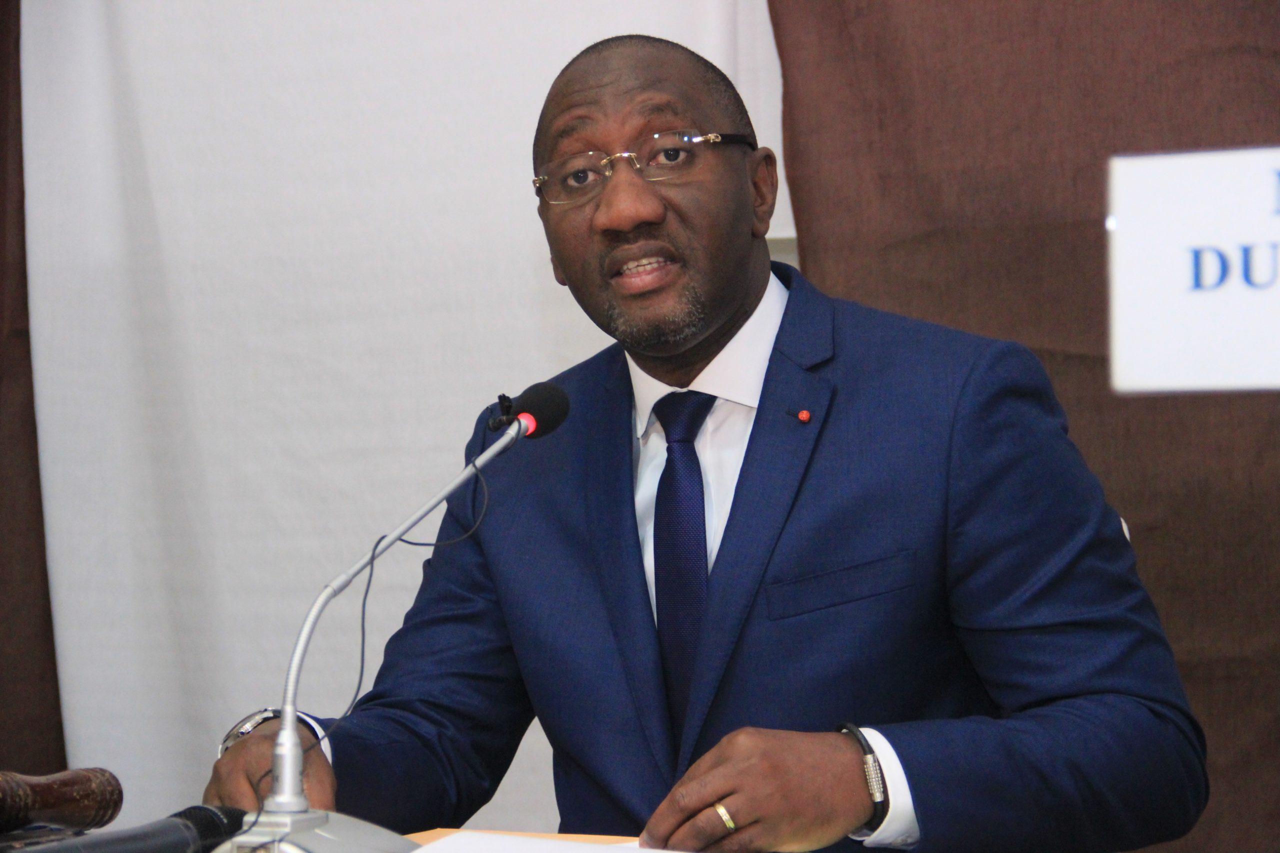 Faso Attiéké: le ministre du Commerce de la côte d'ivoire en colère