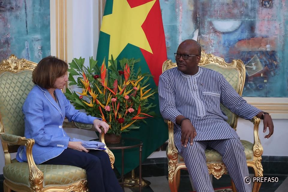 Lutte contre le terrorisme : la ministre française des armées félicite le Burkina Faso pour son engagement