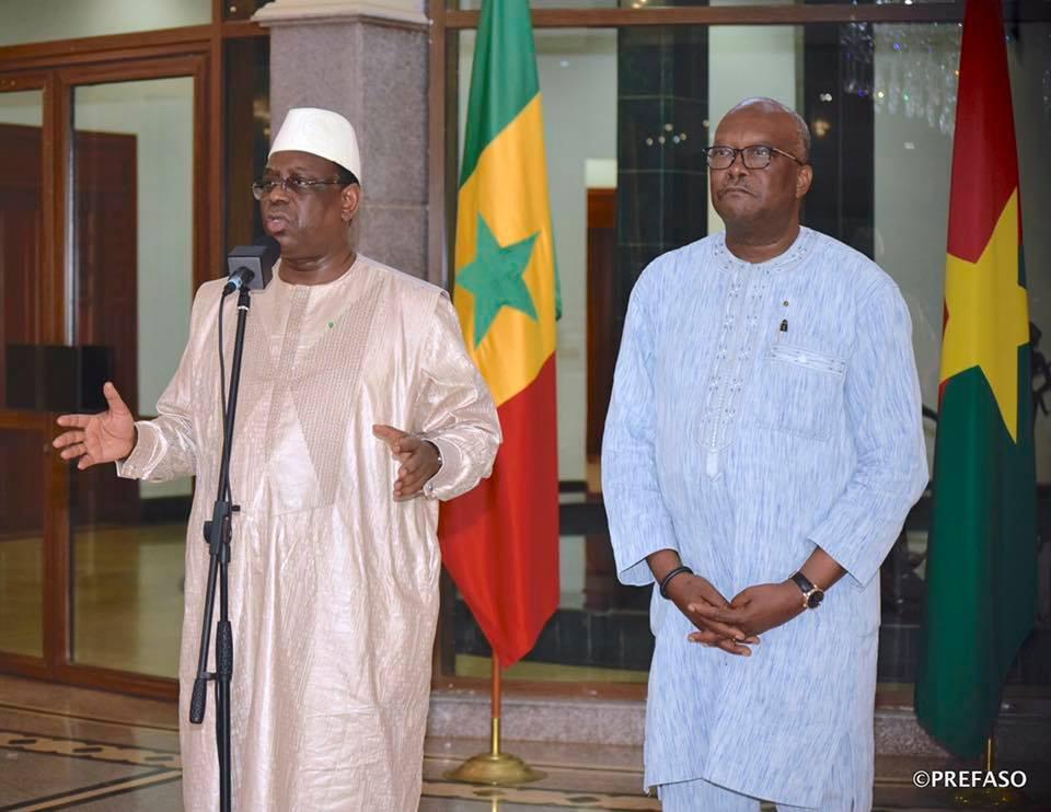 Attaque terroriste sur l'axe Ougarou-Boungou :Macky Sall exprime la compassion de ses pairs de la CEDEAO