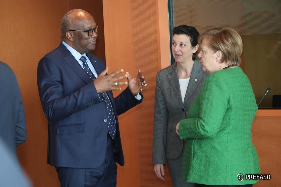 Le président du Faso à Berlin pour la conférence du G20 sur l'initiative « Compact with Africa » : un sommet pour promouvoir l'investissement