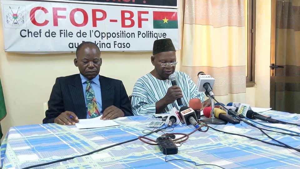 """Politique: """"Le MPP a octroyé des exonérations fiscales à hauteur de 200 milliards de francs CFA à ses amis"""" Opposition"""