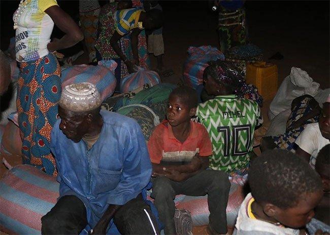 Fada N'Gourma : Arrivée massive de déplacés de Nagré et de Natiaboani
